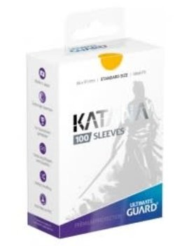 Ultimate Guard UG Katana Sleeves 100Ct: Yellow