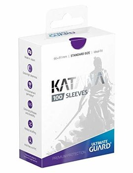 Ultimate Guard UG Katana Sleeves 100Ct: Purple