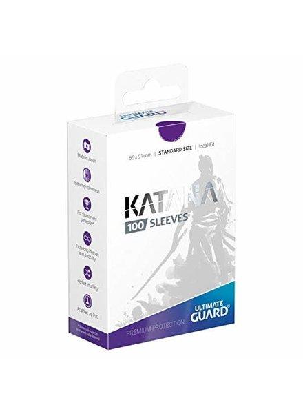 Ultimate Guard UG Katana Sleeves 100Ct: Purple