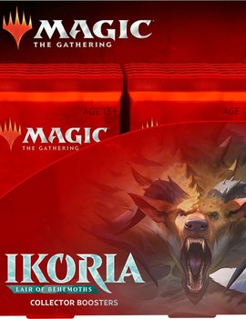 WizardsOfTheCoast MTG Ikoria: Lair of Behemoths Collector Booster Box