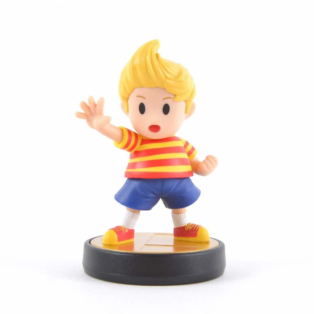 Amiibo - Lucas Super Smash Bros Wii U PRE-OWNED