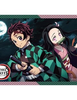 Great Eastern Entertainment Demon Slayer Tanjirou and Nezuko B Wall Scroll