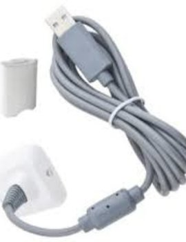 Xbox 360 Charge and Play Pack WHITE