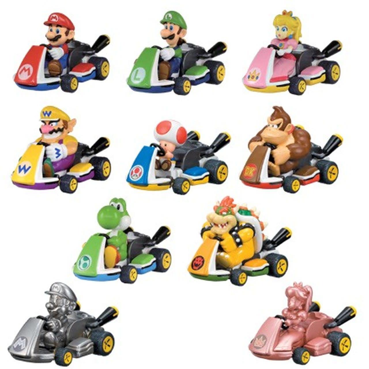 TOMY Mario Kart Pull Back Racers Blind Capsule