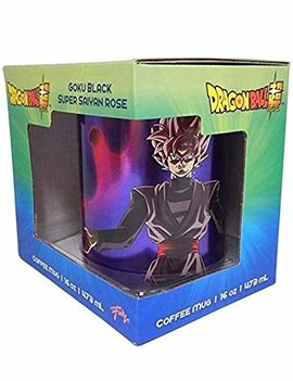 Dragon Ball Super Goku Black Super Saiyan with Gradient Spray 16oz Coffee Mug