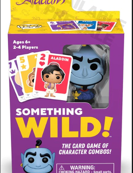Funko Signature Games: Something Wild Card Game- Aladdin