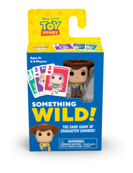 Funko Signature Games: Something Wild Card Game- Toy Story