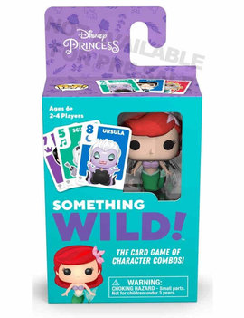 Funko Signature Games: Something Wild Card Game- The Little Mermaid