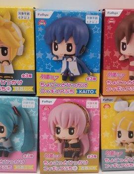 "Hatsune Miku Vocaloid Puchi Figures 1.6"""