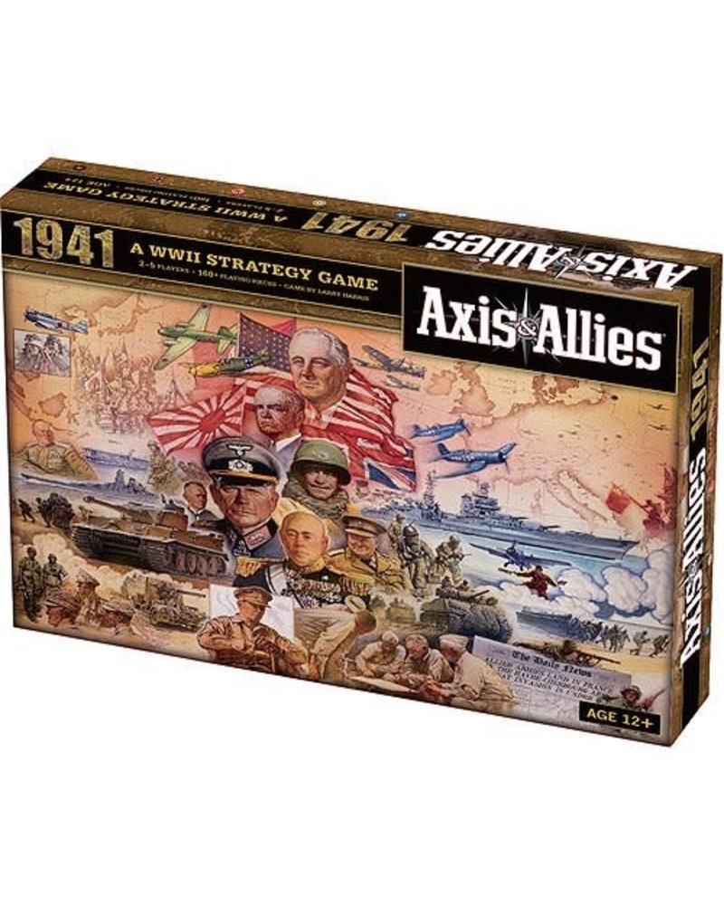 WizardsOfTheCoast Axis and Allies 1941