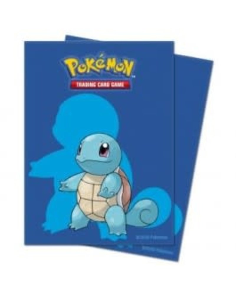 Ultra Pro Ultra Pro Sleeves Pokemon Squirtle 65-Count