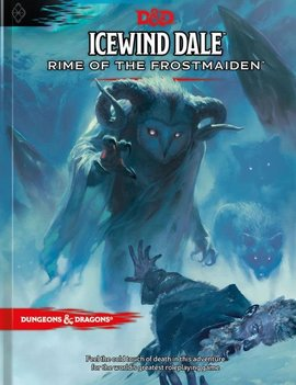 WizardsOfTheCoast D&D 5E Adventures Icewind Dale: Rime of the Frostmaiden