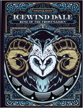 WizardsOfTheCoast D&D 5E Adventures Icewind Dale: Rime of the Frostmaiden Hobby Cover