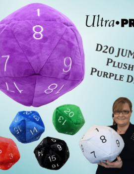 Ultra Pro Ultra Pro Jumbo D20 Plush Die
