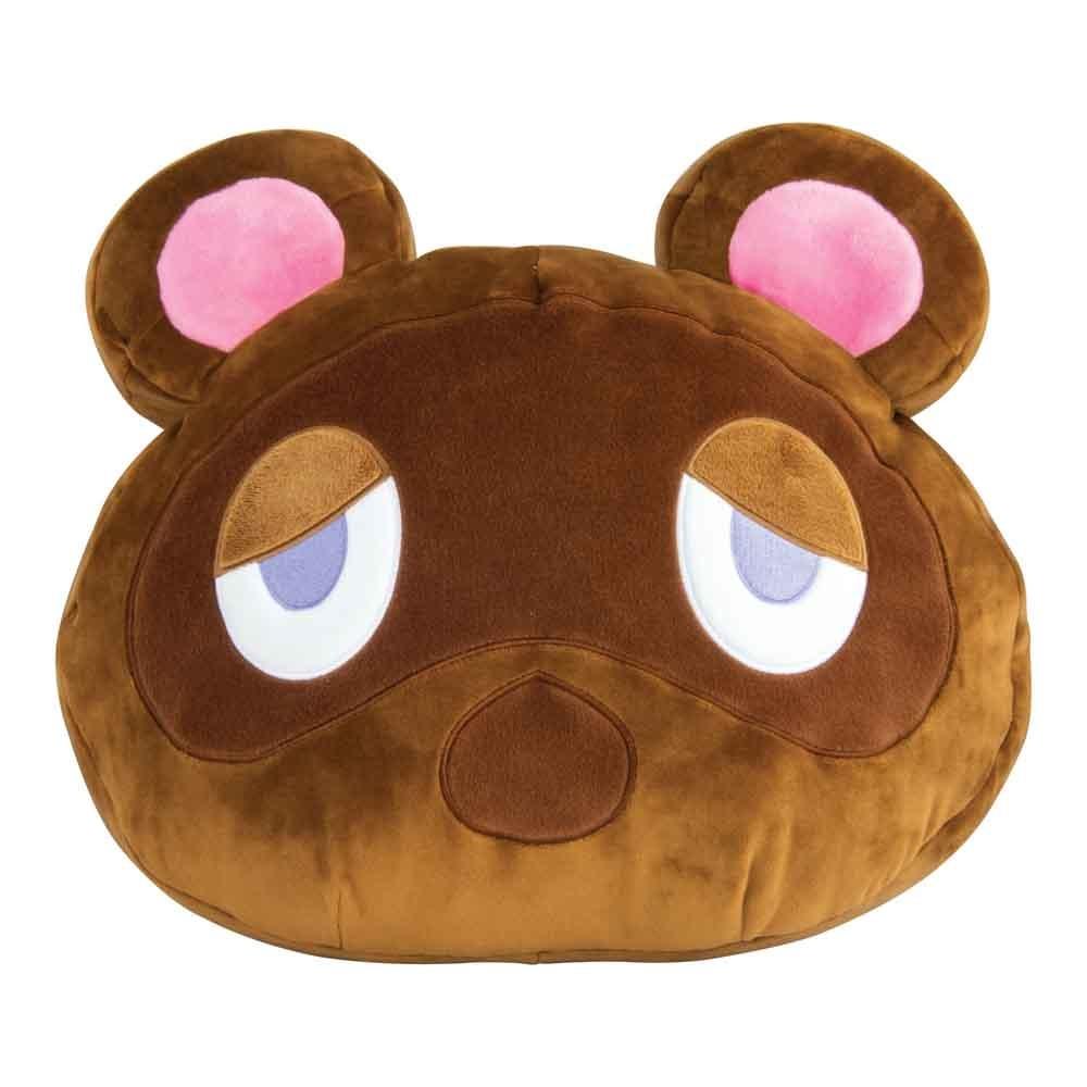 TOMY Tom Nook Head Club Mocchi Mocchi Cushion - Animal Crossing