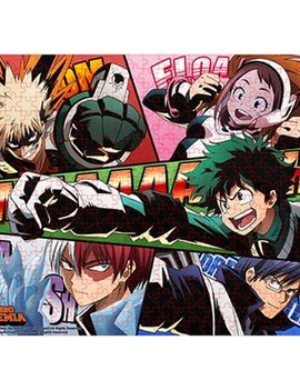 Great Eastern Entertainment My Hero Academia Hero Sound Effect 500-Piece Puzzle