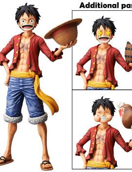 BanPresto Monkey. D. Luffy Grandista Nero - One Piece