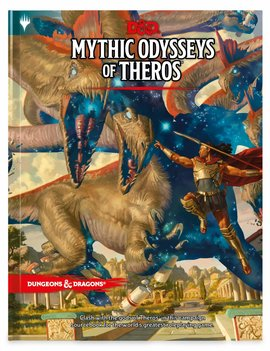 WizardsOfTheCoast D&D 5E Mythic Odysseys of Theros Book