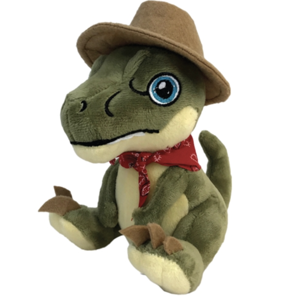 Aurora Monkey Stuffed Animal, Jurassic Park Clawzplay Plush Gamer Oasis