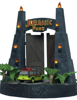 Factory Entertainment Jurassic Park - Gates Environment Sculpture