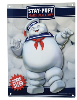 Factory Entertainment Ghostbusters - Stay Puft Marshmallow Man Metal Sign