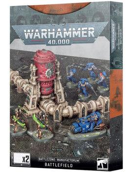 Games Workshop Warhammer 40K: Battlezone - Manufactorum Battlefield