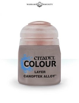 Games Workshop Citadel Paint Layer: Canoptek Alloy (12ML)