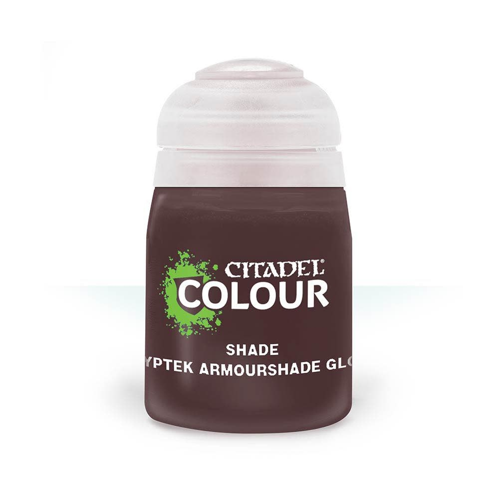 Games Workshop Citadel Paint Shade: Cryptek Armourshade Gloss (18ML)