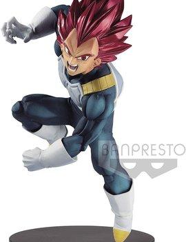 BanPresto Dragon Ball Super Blood of Saiyans Special VII Super Saiyan God Vegeta Figure