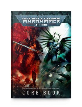 Games Workshop Warhammer 40K Core Rule Book (9th Edition)