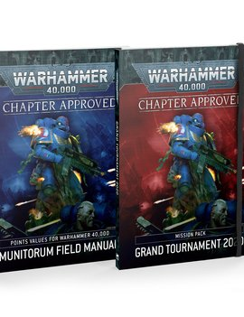 Games Workshop Warhammer 40K Chapter Approved 2020