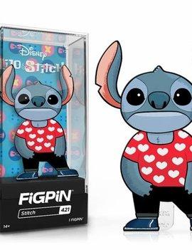 FiGPiN Lilo & Stitch Stitch in Lilo Heart Shirt FiGPiN Classic Enamel Pin