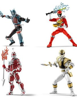 Hasbro Power Rangers Lightning Collection 6-Inch Figures Wave 1