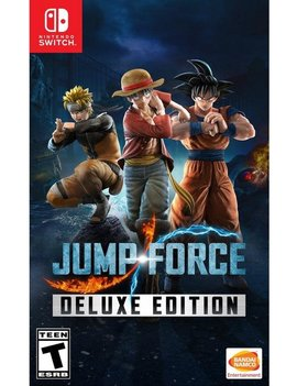 Jump Force Deluxe Edition NEW