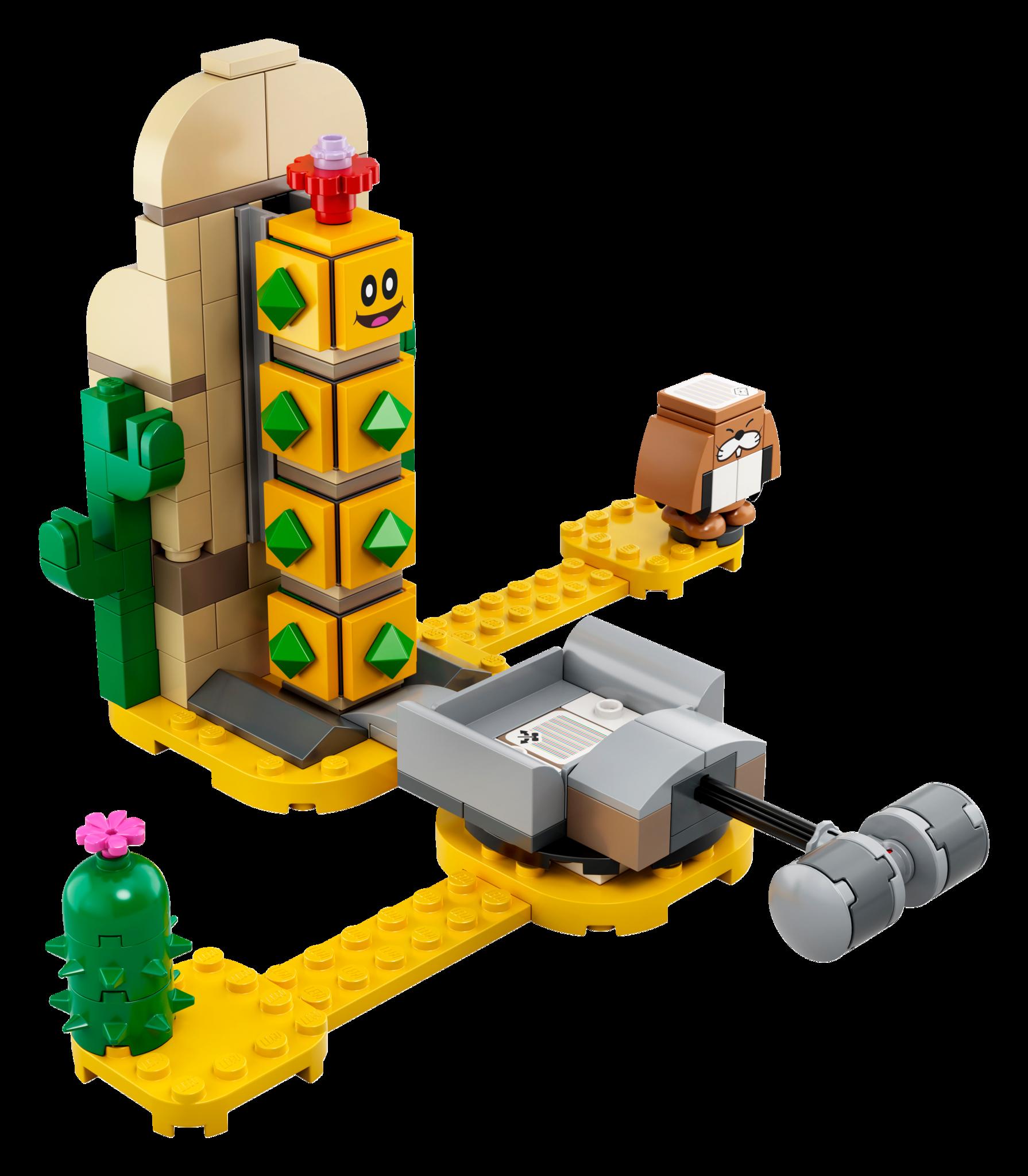 Lego LEGO SUPER MARIO: Desert Pokey Expansion Set