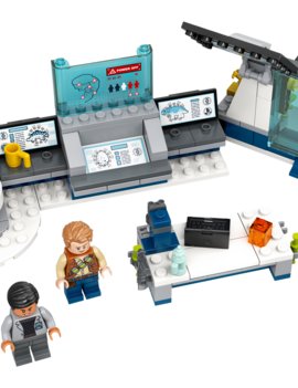 LEGO JURASSIC WORLD: Dr. Wu's Lab: Baby Dinosaurs Breakout​