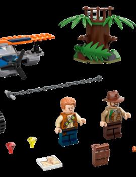 Lego LEGO JURASSIC WORLD: Velociraptor: Biplane Rescue Mission