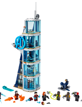 Lego LEGO MARVEL: Avengers Tower Battle