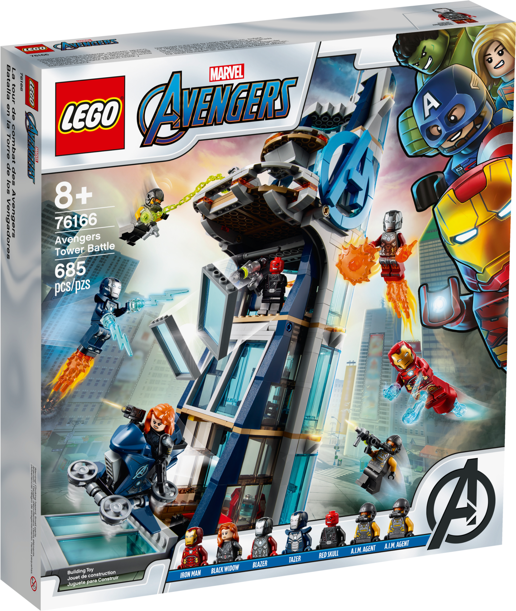 Lego LEGO MARVEL: Avengers Tower Battle