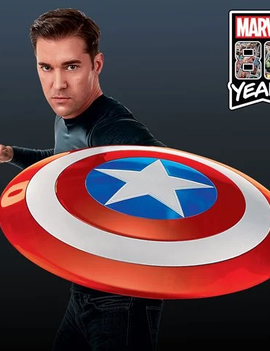 Hasbro Marvel Legends Gear: Classic Comic Captain America Shield Prop Replica