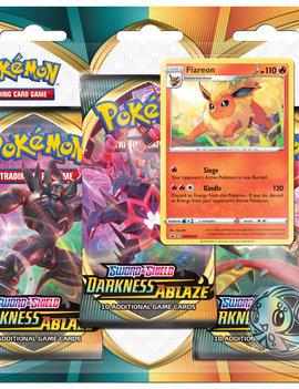 Pokemon Pokemon TCG Darkness Ablaze 3-Pack Blister