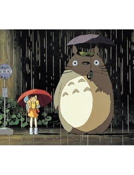 My Neighbor Totoro Rain Bus Stop Petite Puzzle