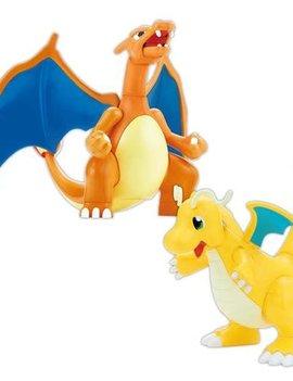 BANDAI Pokemon Charizard and Dragonite Model Kit