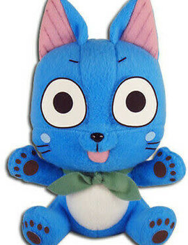 Great Eastern Entertainment Fairy Tail Small Sitting Happy Plush 5in.