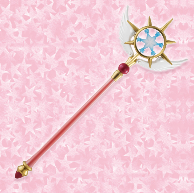 Furyu Cardcaptor Sakura Clear Card Dream Wand 19.7""