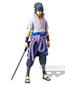 BanPresto Naruto Shippuden Grandista Nero Figure: Uchiha Sasuke