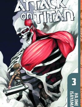Kodansha Attack on Titan Vol. 3