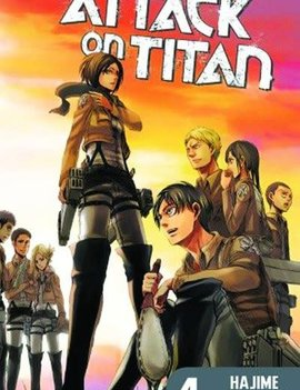 Kodansha Attack on Titan Vol. 4