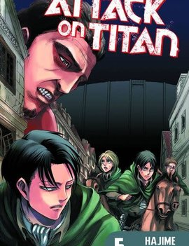 Kodansha Attack on Titan Vol. 5