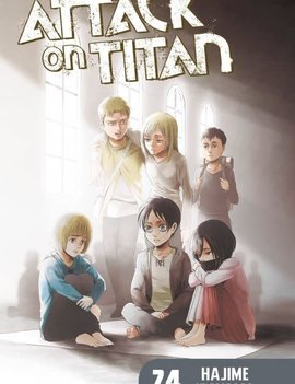 Kodansha Attack on Titan Vol. 24